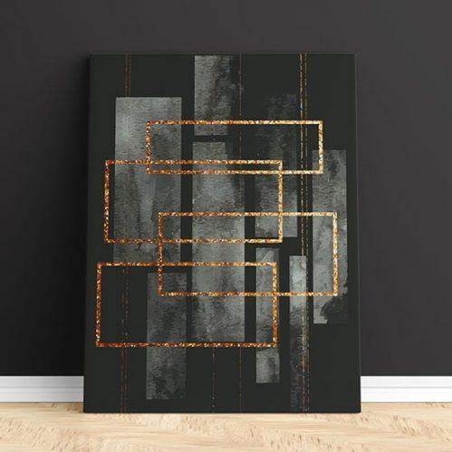 quadro astratto 1 su tela