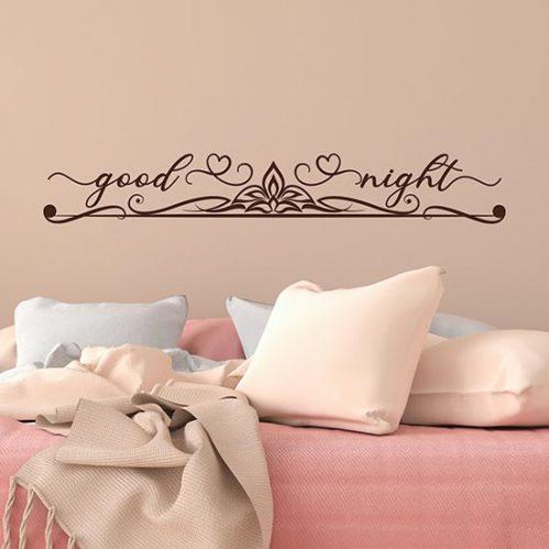 Capezzale adesivo per camera da letto adesivi murali