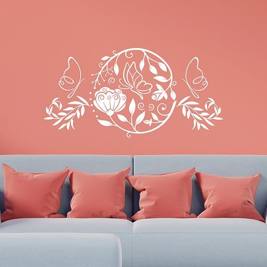 Decorazioni adesive stilizzate da parete adesivi murali