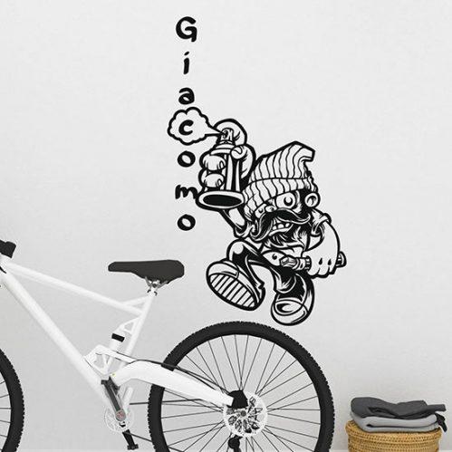 Murales adesivo da parete personalizzato