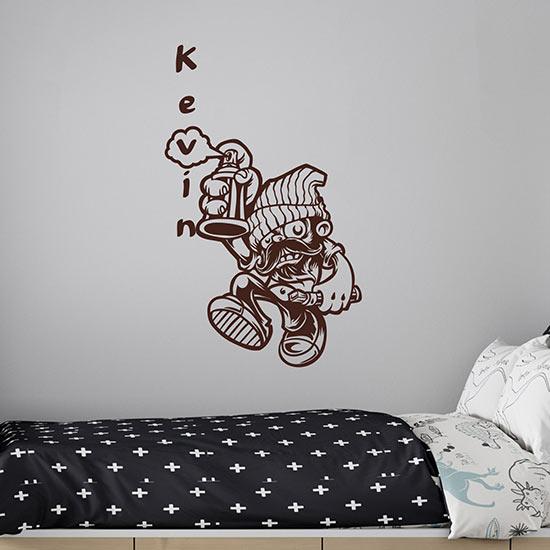 Murales adesivo da parete personalizzato adesivi murali