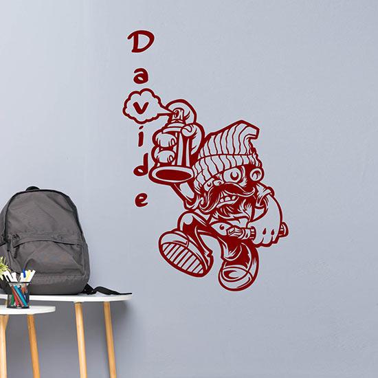 Murales adesivo da parete personalizzato wall stickers