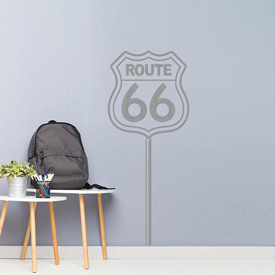 Route 66 adesivi murali decorazioni adesive